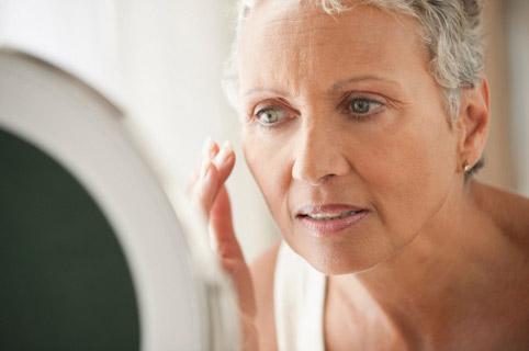 Гормональное старение кожи