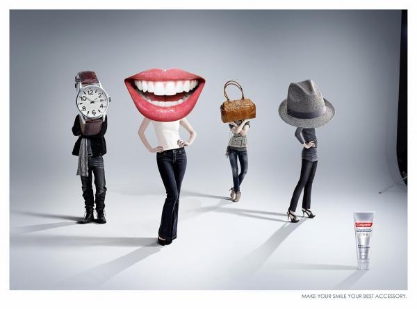 Отбеливающие зубные пасты. Подборка самых необычных рекламных кампаний.